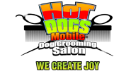 Mobile dog grooming salon